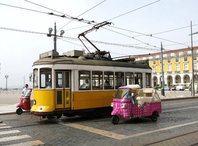 The Lisbon tram to Belem